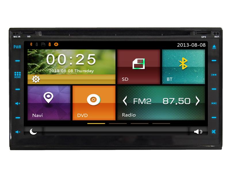 Autoradio GPS DVD Bluetooth DVB-T TV 3G/4G/WiFi 2 DIN 3W6958CTW ...