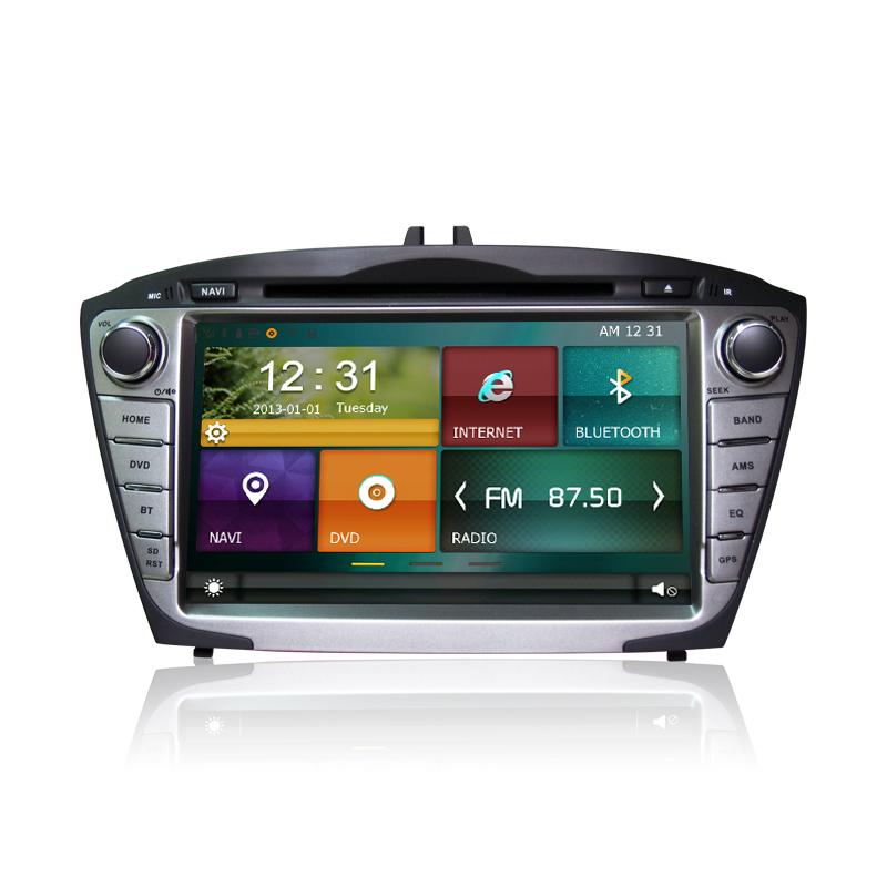 Autoradio GPS DVD Bluetooth DVB-T TV 3G/4G/WiFi Hyundai IX35 ...