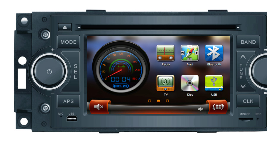 Autoradio Dvd Gps Chrysler 300c 300 Pt Cruiser 3015c