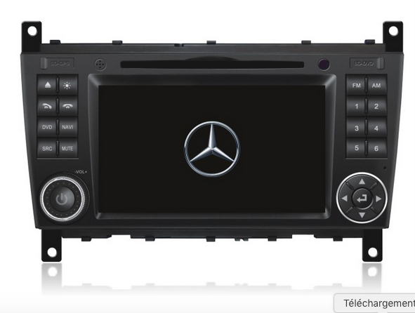 autoradio gps dvd dvb t tnt 3g 4g mercedes benz c class. Black Bedroom Furniture Sets. Home Design Ideas