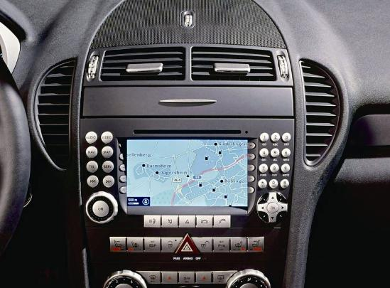 autoradio dvd gps tnt mercedes benz class slk 4801. Black Bedroom Furniture Sets. Home Design Ideas