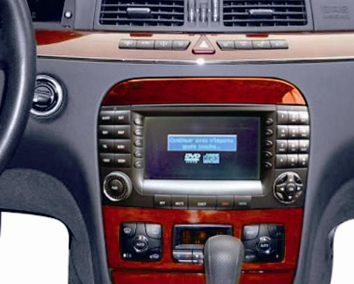 autoradio dvd gps tnt mercedes benz class s 4800 trouver l 39 autoradio gps de vos r ves le top. Black Bedroom Furniture Sets. Home Design Ideas