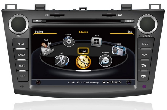 autoradio dvd gps tnt 3g wifi mazda 3 2009 2012 c0345 trouver l 39 autoradio gps de vos r ves. Black Bedroom Furniture Sets. Home Design Ideas