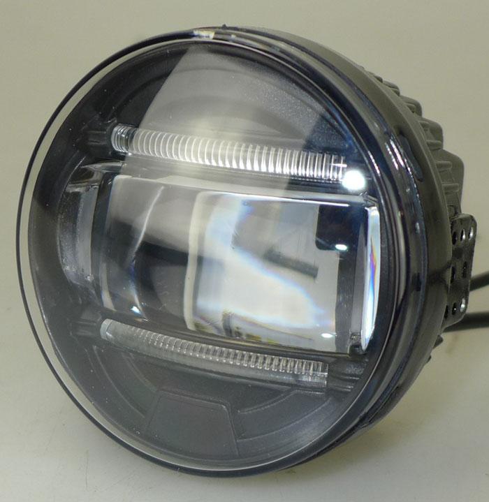 Feux antibrouillard led drl lumi re feux de jour led for Citroen c1 led verlichting
