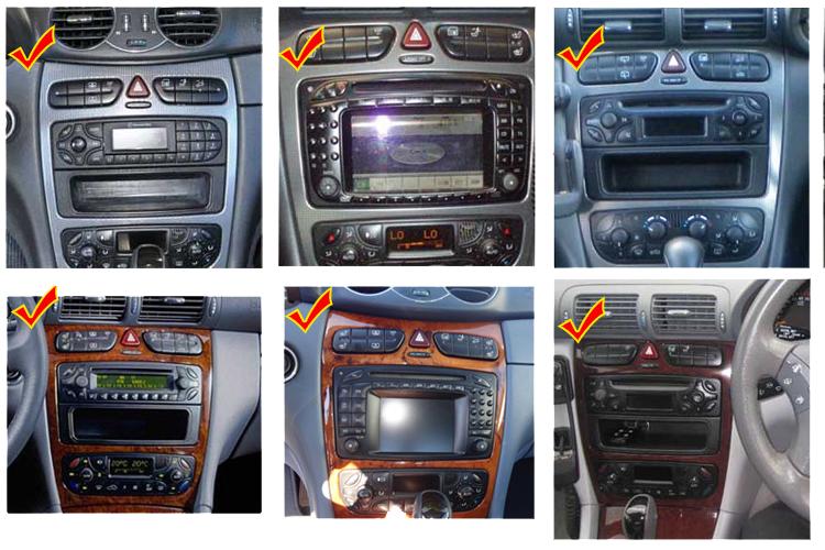 autoradio gps dvd bluetooth dvb-t tnt tv 3g/4g mercedes benz class