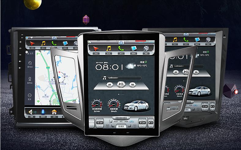 Autoradio GPS Grande schermo Android Verticale Tesla ...