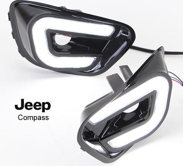 led auxiliaire diurne jeep compass 2013 2014 jp8804 trouver l 39 autoradio gps de vos r ves le. Black Bedroom Furniture Sets. Home Design Ideas