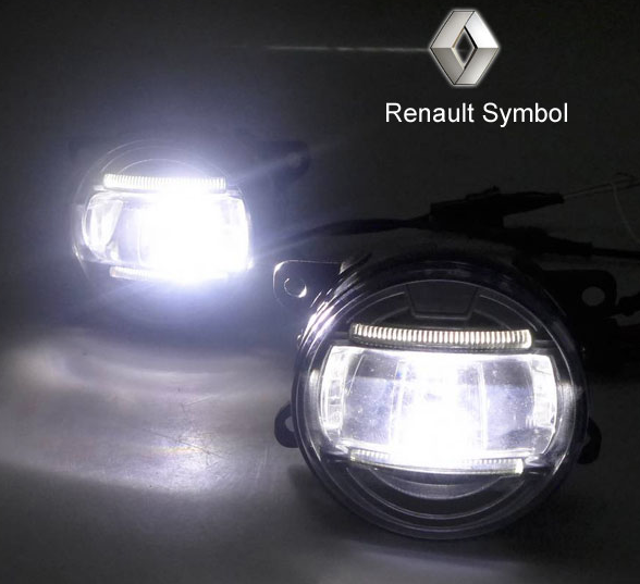 Led Fog Lamp Drl Daylight Renault Symbol Rt8832 Find The Car Dvd