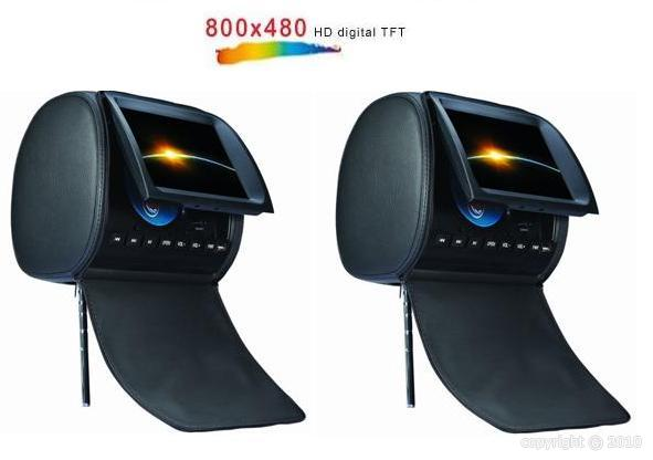 paire appui t tes dvd usb sd ecran 9 sk 906 trouver l. Black Bedroom Furniture Sets. Home Design Ideas